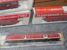 N Gauge Fleischmann Piccolo DB Train Carriage Lot 1