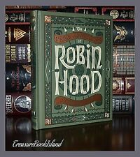 Merry Adventures of Robin Hood by H. Pyle Illustrated New Sealed Leather Bound