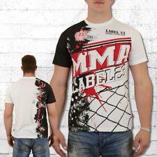 Label 23 MMA 2018 camisetas de hombres Weiss tshirt