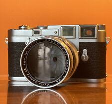[TOP MINT] CANON 135mm f/3.5 Lens Leica Thread Mount LTM L39 - See Sample Photo!