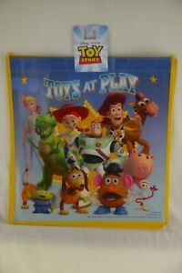 Disney Pixar Toy Story TOYS AT PLAY Buzz Woody Jessie Tote Halloween Shopper Bag
