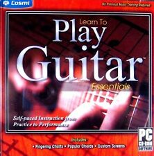 Learn To Play Guitar: Essentials (New PC CD-ROM 2011) Windows **Free Shipping!