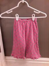 Garnet Hill pink/gray dot Green Cotton Pants, Girls Sz 2T Fast Ship�