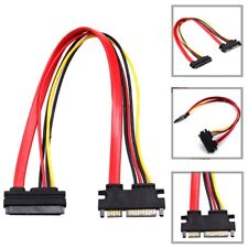 22 Pin 7 15 Male to Female Serial SATA 3 Extension Cable