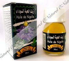 Huile de Nigelle BIO 100% Pure & Naturelle 30ml Black Seed Oil