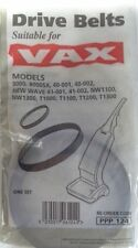 VAX - Drive Belt set (2) PPP124 for models 8000, 40/001-002, new wave, etc (NEW)