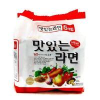 Korean Instant Noodle SAMYANG MASINNUN RAMYUN Ramen 5pack Set