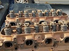 1971 71 Big Block Chevy LS6 454 Rectangle Port Heads 3964291 291