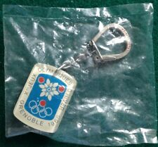 1968 Grenoble Olympic Winter Games Skating-figure portachiavi keychain.