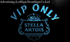 Vip Only Stella Artois Beer Led Neon Sign Bar Beer Pub Club 3D Signs