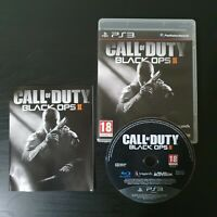 Call of Duty: Black Ops II 2 Video Game for Sony PlayStation 3 PS3 PAL TESTED