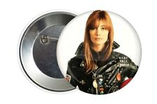Badge Pin Button 38 mm Françoise Hardy