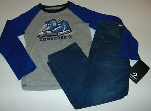 ~NWT Boys CONVERSE & TOMMY HILFIGER Outfit! Size 4/4T Super Cute:)!