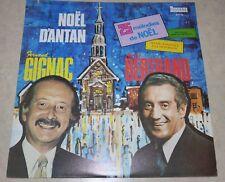 Album LP vinyl Fernand Gignac André Bertrand Noël D'antan ! Christmas