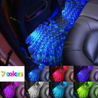 USB Sound Control Floor Mat Colorful LED Decorative Atmosphere Light Star Light