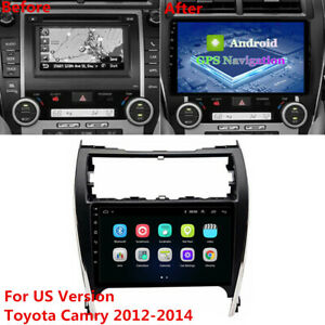 10.1'' Android 10.1 Car Stereo Radio MP5 GPS Navi For 2012-2014 Toyota USA Camry