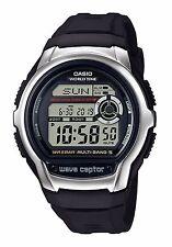 Casio WV-M60-1A Orologio, Radiocontrollato, Crono,Luce,Sveglia,Fuso,Orario,Timer