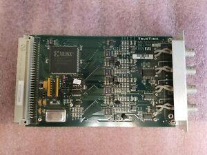 Symmetricom TrueTime 86-708-1 N8 Frequency Synthesizer Triax RS-422 Add-In Card