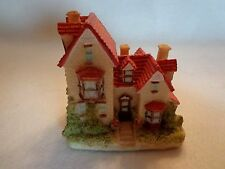 """Liberty Falls """"Tully House"""" By The Americana Collection-Ceramic Resin-1994-Nib"""