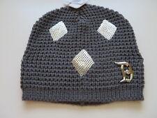 Disney parks Exclusive D60 Disneyland Diamond Celebration Knitted Gray Hat