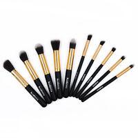 10 Pcs Makeup Brushes Set Kabuki Cosmetic Brush Face Powder Foundation Blusher