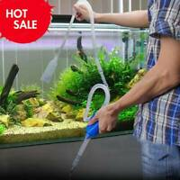 Aquarium Fish Tank Cleaning Vacuum Water Change Gravel Sand Pump Siphon Cleaner