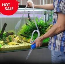 Aquarium Fish Tank Cleaning Vacuum Water Change Gravel Sand Pump Siphon Cleaner