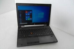 HP EliteBook 8560w Intel Core i7 (Quad) 2.20GHz 16GB Wi-Fi 500GB WebCAM XU085UT