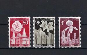 [LK6907] Belgium N°961/963 Flowers MNH ** COB € 15,00 SUPERB