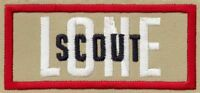 BOY SCOUT NEW STYLE OFFICIAL LONE SCOUT BSA PATCH EMBLEM JAMBOREE OA TRADING
