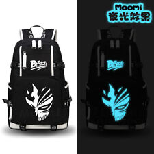 Japanese Anime Bleach Cosplay Luminous Backpack Shoulder bag Laptop Satchel Gift
