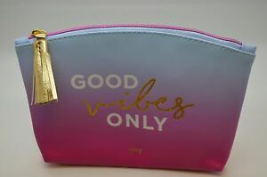 """Ipsy Bag August 2017  """"Good Vibes Only"""" no samples just the bag"""