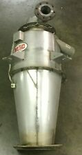 """New listing Mac Stainless Steel Cyclone Model Ct21 Collector / 58""""H / 4 1/2"""" Inlet / Lot #2"""