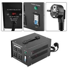 Transformateur 220V 110V Régulateur Convertisseur De Tension 3000W Plug EU