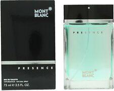 """Montblanc eau de toilette """"presence"""", 75 ml"""
