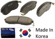 OEM Front Ceramic Brake Pad Set With Shims For Kia Soul 2010-2013