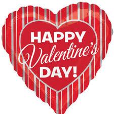 Articoli Amscan argento San Valentino per feste e occasioni speciali