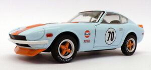 Greenlight 1/24 Scale 18302 - 1970 Bre Datsun 240Z #70 - Lt Blue/Orange