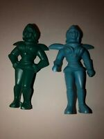Plastic Spacewomen  SCI FI  Archer Ajax Premier Vintage  EXCELLENT Lot of  2