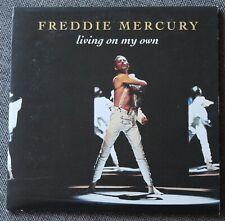 Freddie Mercury - Queen, living on my own / LA mix, CD single
