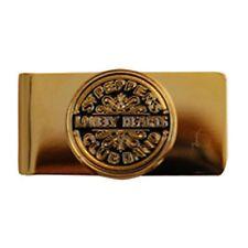 The Beatles Gold Black Pepper Metal Money Cash Note Holder Clip Gift Wallet