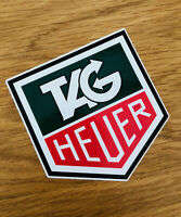TAG HEUER Aufkleber Sticker Logo Steve Mcqueen Monaco Turbo Auto Decal JDM Mi257