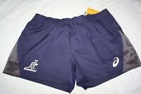 RUGBY Wallabies Mens Training Shorts, sizes 3XL only
