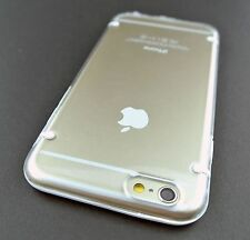 WHITE CLEAR AERO AQUAFLEX GEL HYBRID PHONE CASE COVER APPLE IPHONE 6 6S 4.7