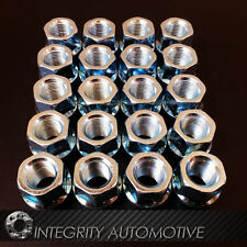 20 Open End Bulge Acorn Lug Nuts 12x1.25 | 3/4 Hex Cone Seat Lugs For Infiniti