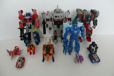 Transformers Titans Return lot complete G1 TR Generations Optimus Prime Megatron