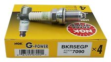 4 Plugs NGK SPARK PLUGS BKR5EGP/7090 G-Power Platinum