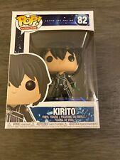 Funko Pop! Animation Sword Art Online Kirito #82 Vinyl Figure Vaulted
