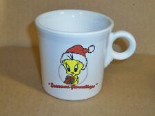 "Tweety Mug, ""Seasons Greetings"". Ceramic"