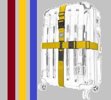 Koffergurt Kofferband Kreuz Gepäckband Gepäckgurt Koffergürtel Kofferriemen